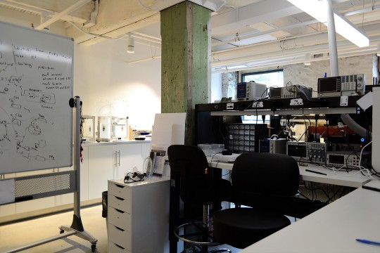 TandemLaunch's lab space